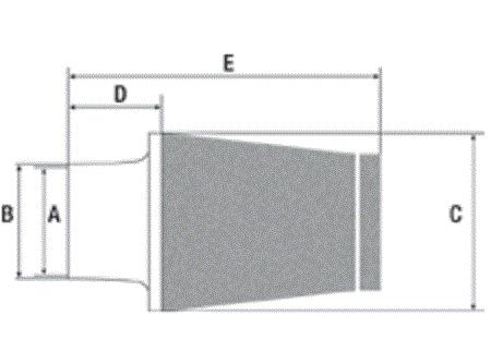 JC60//67FC Itg maxogen renforcé cône filtre à air 67mm id//70mm od neck