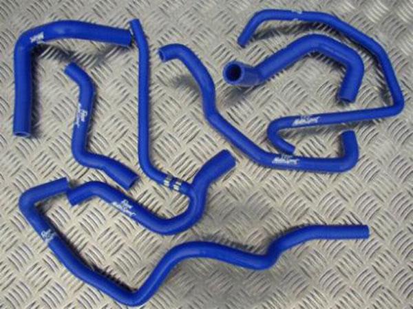 Colour /& Clip Kit Choice Ford Fiesta Zetec S MK6 Ancillary Hose Kit Roose.